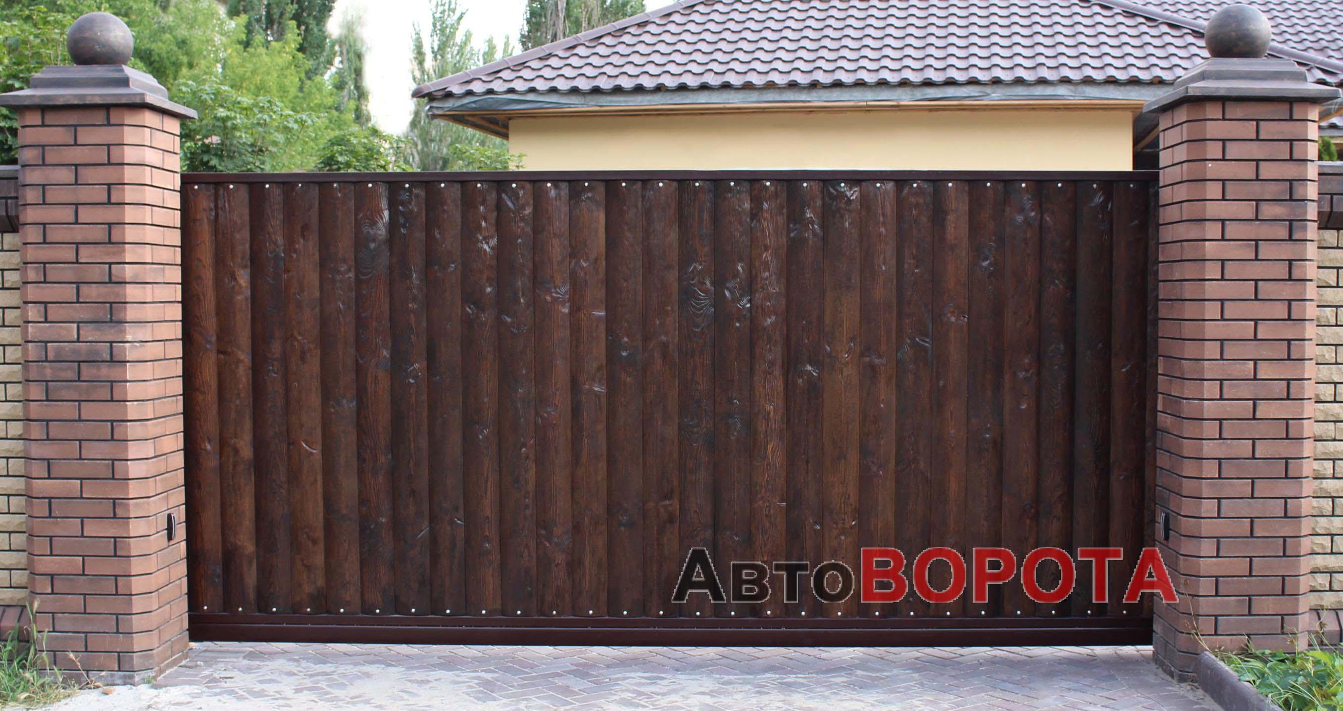 Забор из сайдинга своими руками 51