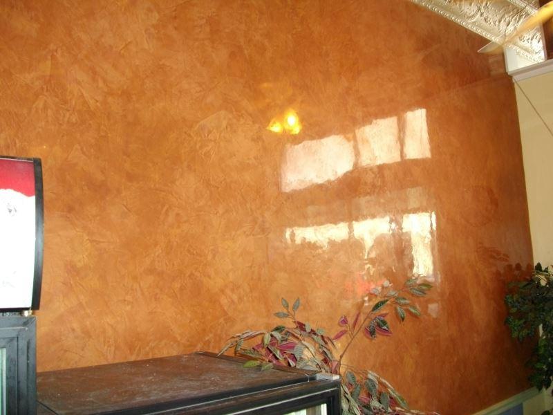 как выяснить как смотрятся декоративные краски на стене