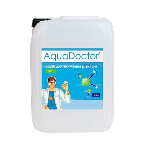 AquaDoctor pH Minus 20 л.