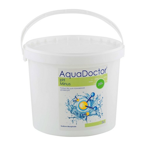 AquaDoctor pH Minus 5 кг. для басейну