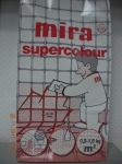 затирка для швов mira supercolour, 5кг
